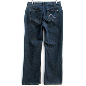 French Cuff - Bootcut Jeans - Embellished - Sz 10